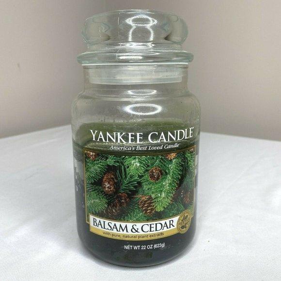 Yankee Candle Balsam & Cedar 22 oz. Jar